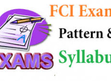 fci exam pattern