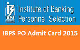 ibps admit card download