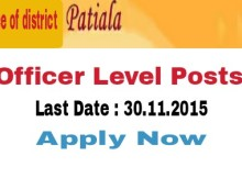 district administration patiala recruitment