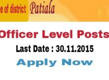 district administration patiala recruitment