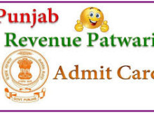Punjab Revenue Patwari