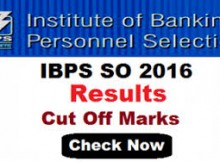 ibps specialist officer