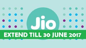 jio extend date