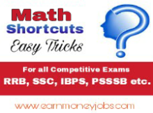 math shortcut tricks