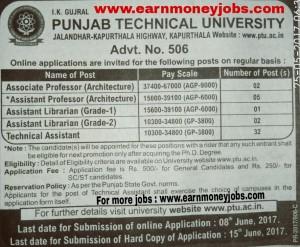 Ptu recruitment