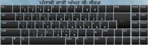 Raavi Font keyboard