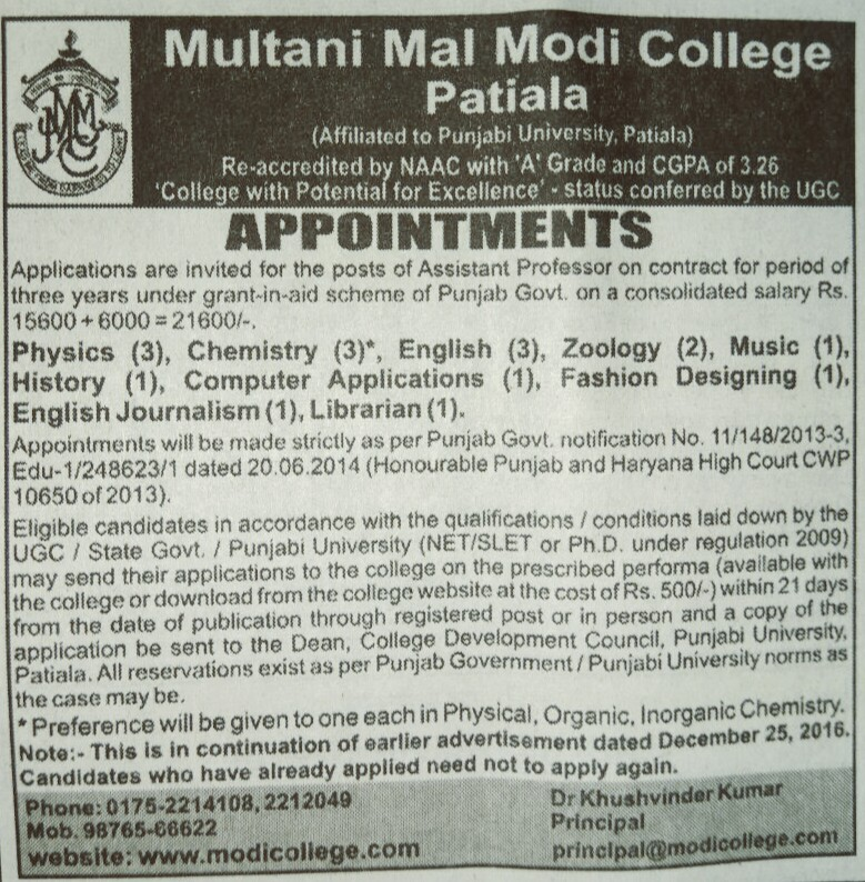 Modi college Patiala