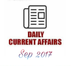 current affairs 24 sep 2017
