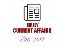 current affairs 30 sep 2017