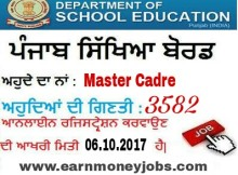 education recruitment board