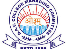 dav college recruitment