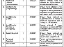 punjab tranport office recruitment