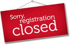registration closed