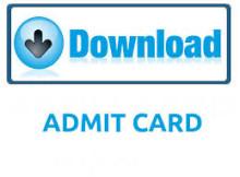 senior assistant admit cards