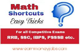 math shortcut tricks