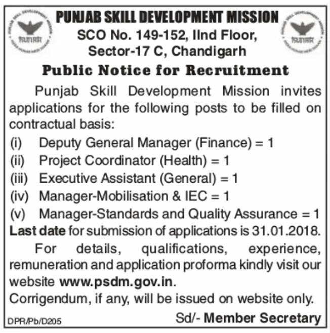 Punjab skill development