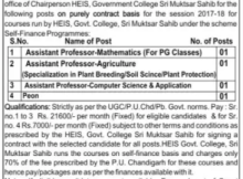 govt college muktsar recruitment