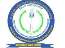 Guru Granth Sahib World University recruitment